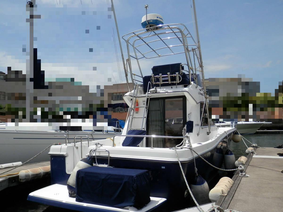 ヤマハ Y31 コンバーチブル シャフト船 ワンオーナー 使用時間 796時間 発電機エアコン付き 美艇です。_画像2