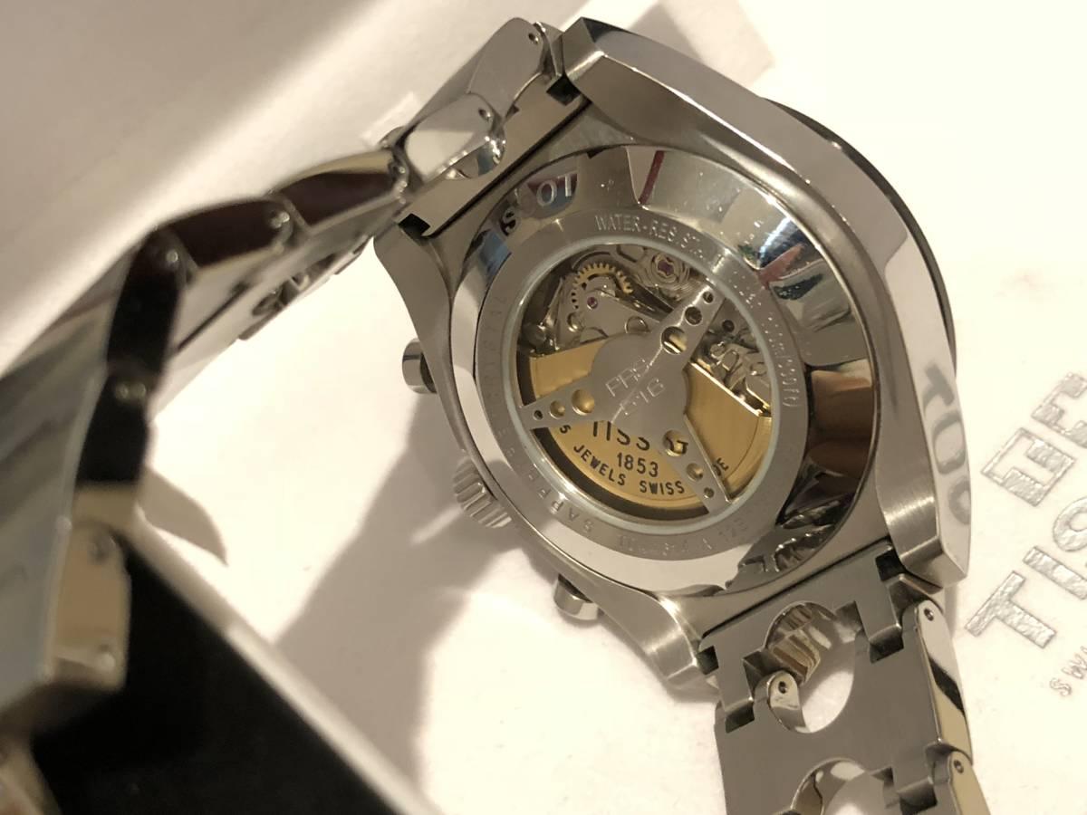 【美品】機械式AUTOMATIC TISSOT T0446142103100クロノグラフ自動巻 45mm_画像4