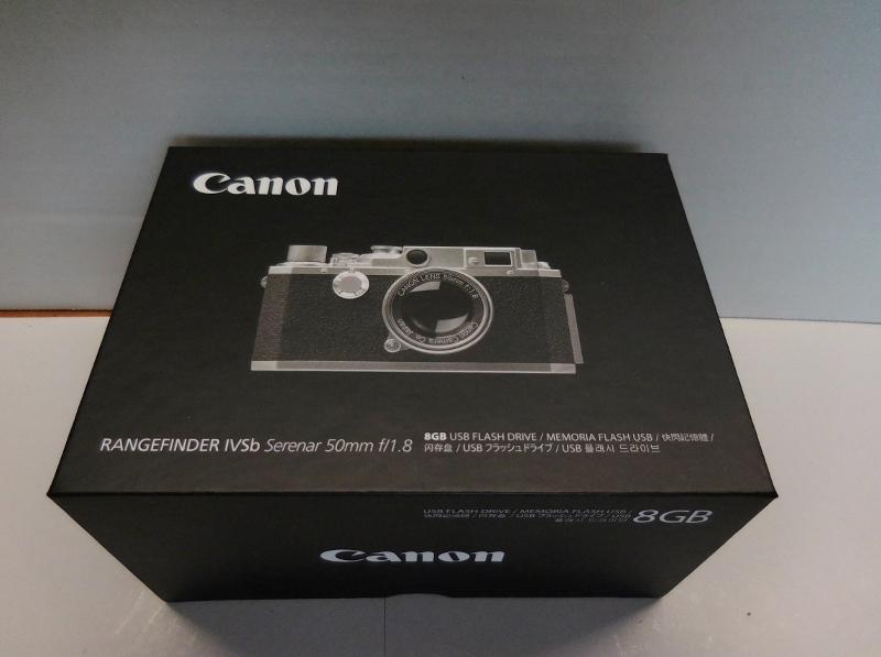 キャノン Canon RANGEFINDER IVSb型 ミニチュアUSBメモリー8G_画像2