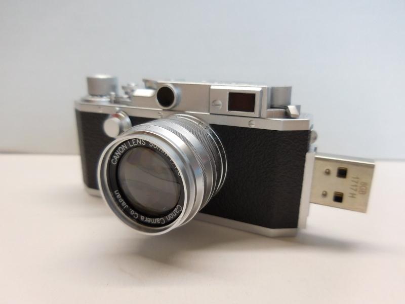 キャノン Canon RANGEFINDER IVSb型 ミニチュアUSBメモリー8G_画像10