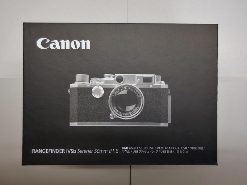 キャノン Canon RANGEFINDER IVSb型 ミニチュアUSBメモリー8G