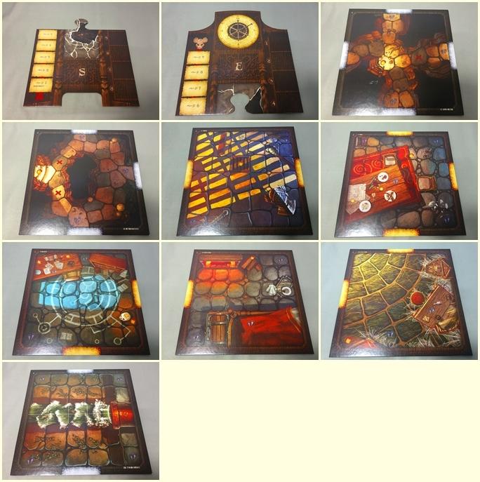 マイス&ミスティクス 日本語版 ボードゲーム RPGテイストの協力型冒険ゲーム (0525)_画像9