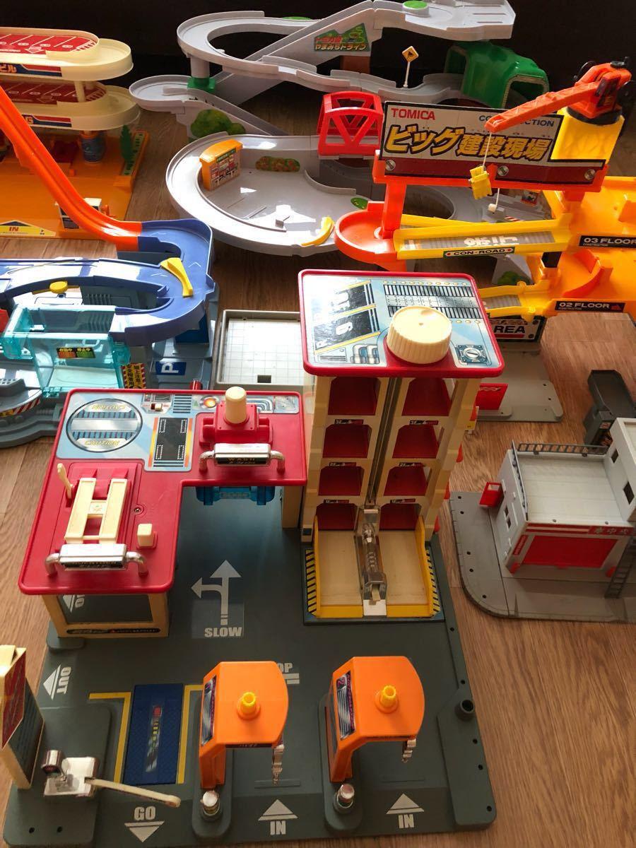 トミカビル、建設現場、自動車工場、やまみちドライブ、マルチスタンド、消防署、ハイパーレスキュー本部_画像3