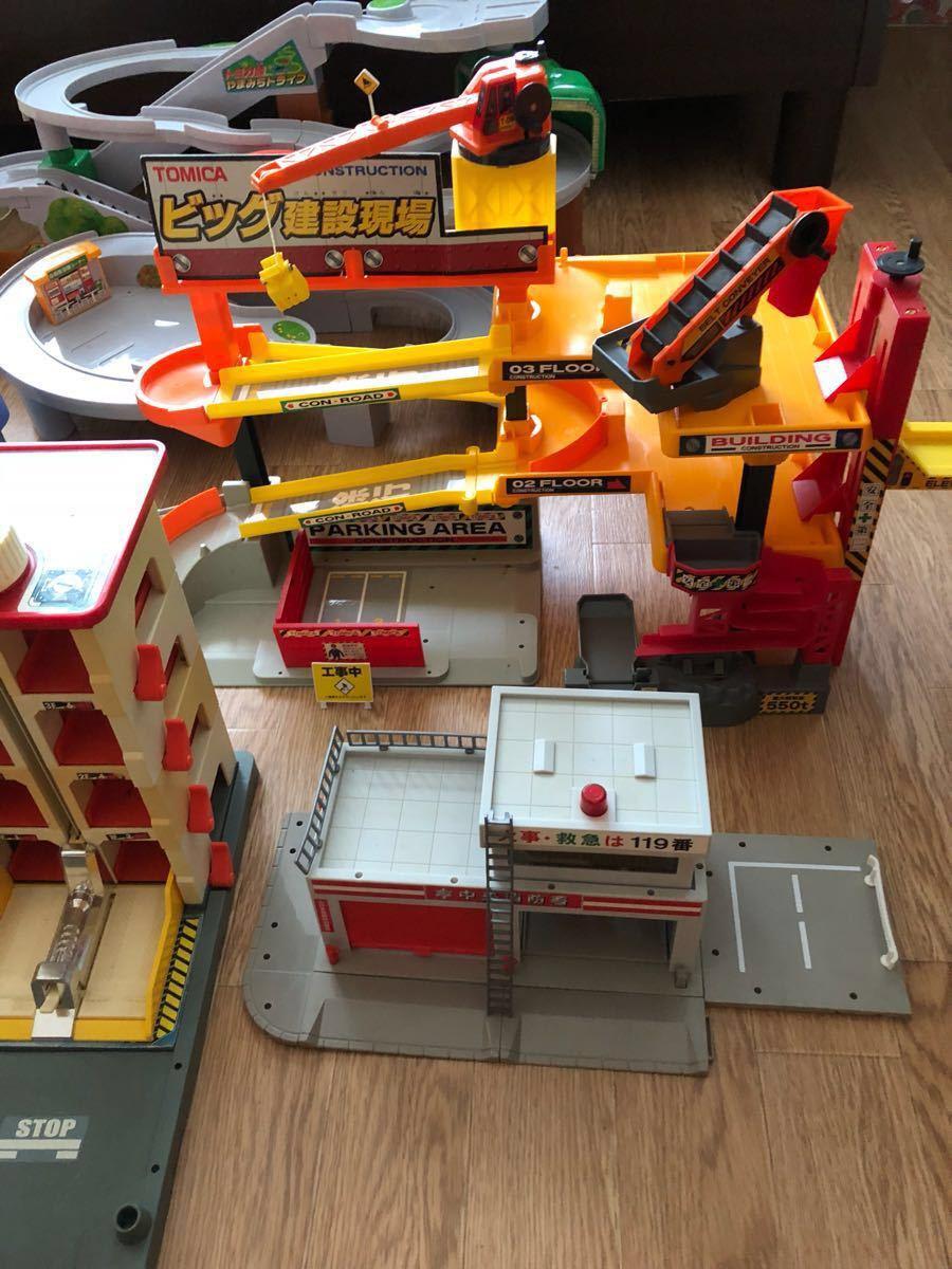 トミカビル、建設現場、自動車工場、やまみちドライブ、マルチスタンド、消防署、ハイパーレスキュー本部_画像4