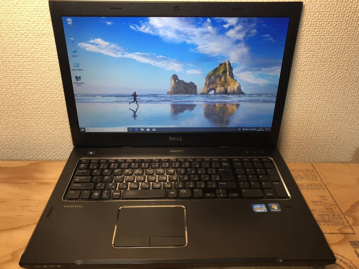 WIN10 DELL VOSTRO 3750 Core I7-2670 2.20GHz 4G 1000G HDD HD3000 + GT525m OFFICE 2013搭載 東京即日発送