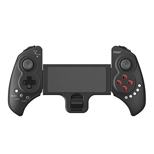 【新品未使用】PG9023 ipega Bluetooth ゲームコントローラー 伸縮性ホルダー Android/PC/スマートフォン ゲームパッド スマホ