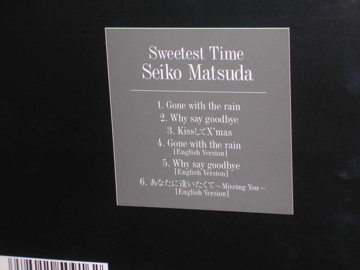 新品未開封特製デジパック仕様CD 松田聖子/Sweetest Time (スウィーテスト・タイム)_画像2