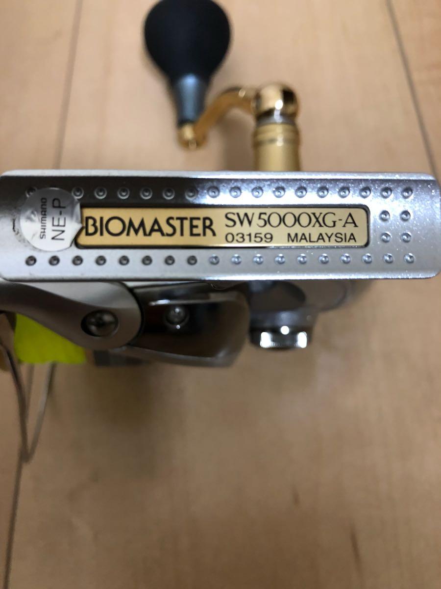 シマノ バイオマスター SW 5000XG 美品_画像2