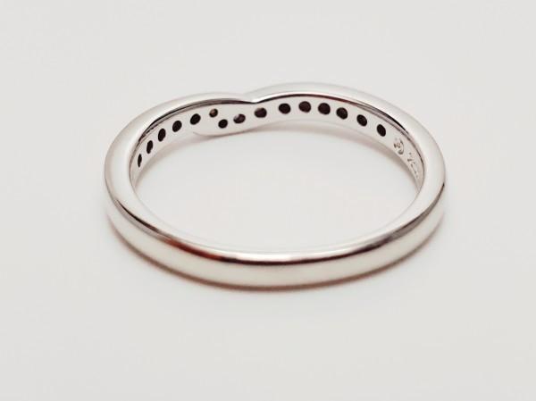 TASAKI Pt1000 ダイヤモンド0.14ct デザインリング 指輪 #14 田崎真珠 メレD 指輪 プラチナ ダイアモンド_画像3