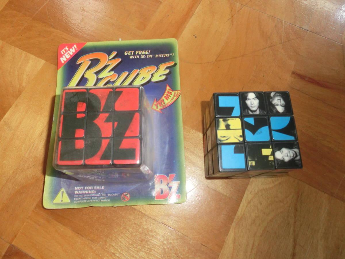 即決 B`z ビーズ 非売品 オリジナル キュービック パズル B`z CUBE 2個セット 特典 松本孝弘 稲葉浩志_画像1