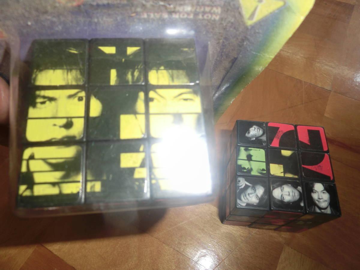 即決 B`z ビーズ 非売品 オリジナル キュービック パズル B`z CUBE 2個セット 特典 松本孝弘 稲葉浩志_画像5