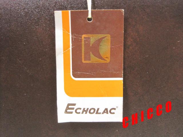 即決★日本製未使用★ECHOLAC アタッシュケース PVC こげ茶 42.5×32.5×9cm 鍵付き ビジネスバッグ 旅行鞄 トランクケース トラベル 美品_画像5