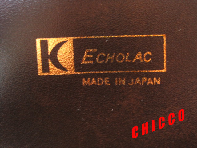 即決★日本製未使用★ECHOLAC アタッシュケース PVC こげ茶 42.5×32.5×9cm 鍵付き ビジネスバッグ 旅行鞄 トランクケース トラベル 美品_画像10
