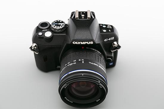 OLYMPUS 一眼レフカメラ レンズ 14-42㎜ 1:3.5-5.6ED レンズセット (E-410) 美品_画像7