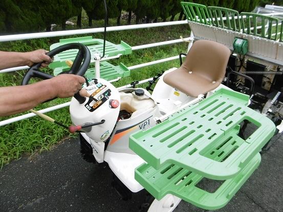 田植機 ヤンマーVP1 4条 歩っとハンドル パワステ 油圧ポンプ新品 売り切り_画像8