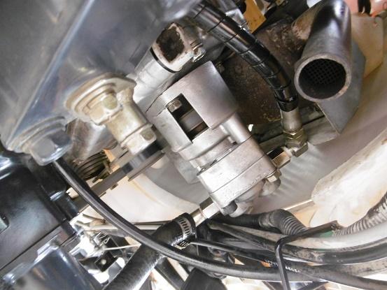 田植機 ヤンマーVP1 4条 歩っとハンドル パワステ 油圧ポンプ新品 売り切り_画像10