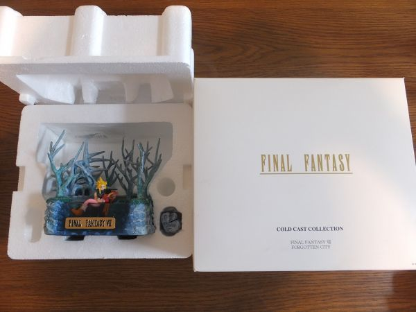 FF7 コールドキャスト 忘れらるる都 クラウド エアリス 名シーン フィギュア FAINALFANTASY7 ファイナルファンタジー7