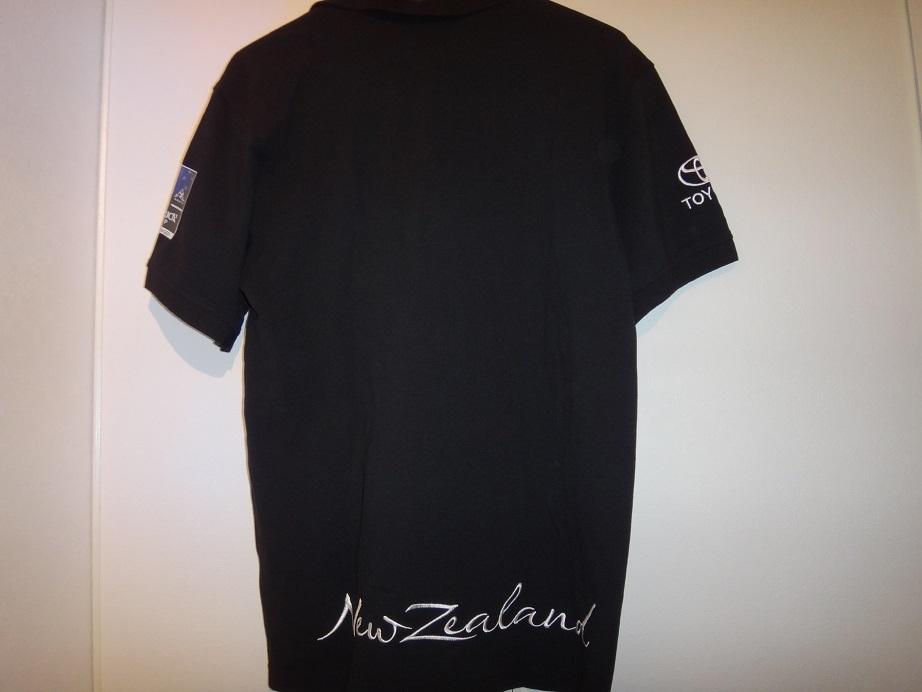★新品★アメリカズカップチームニュージーランドエミレーツチーム35回優勝ポロシャツS(日本ML)_画像2