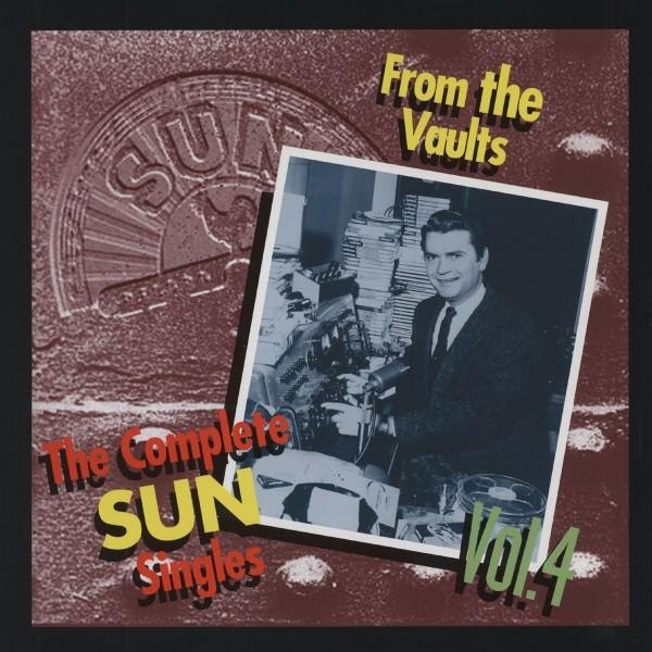 【新品/LPサイズ/輸入盤4CDボックス・セット】VARIOUS ARTISTS/The SUN Singles Vol.4-The Complete-From The Vaults_画像1