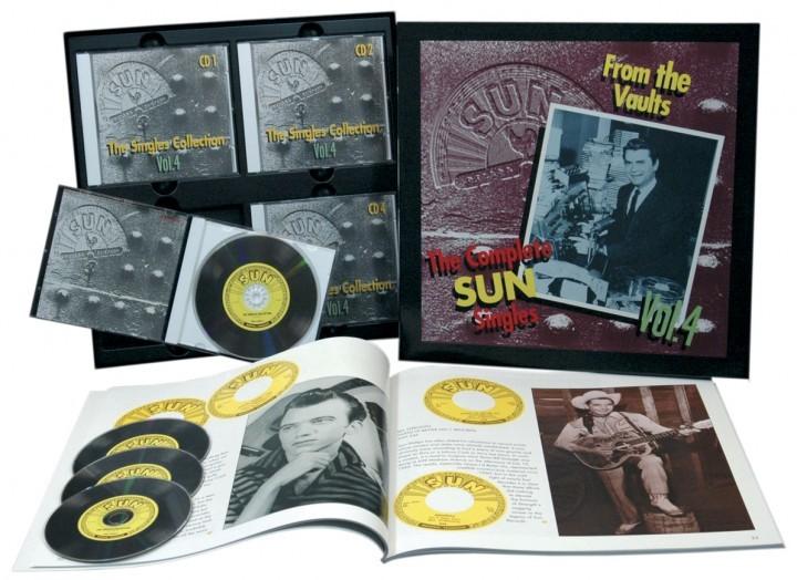 【新品/LPサイズ/輸入盤4CDボックス・セット】VARIOUS ARTISTS/The SUN Singles Vol.4-The Complete-From The Vaults_参考画像(出品商品はシールド状態です)