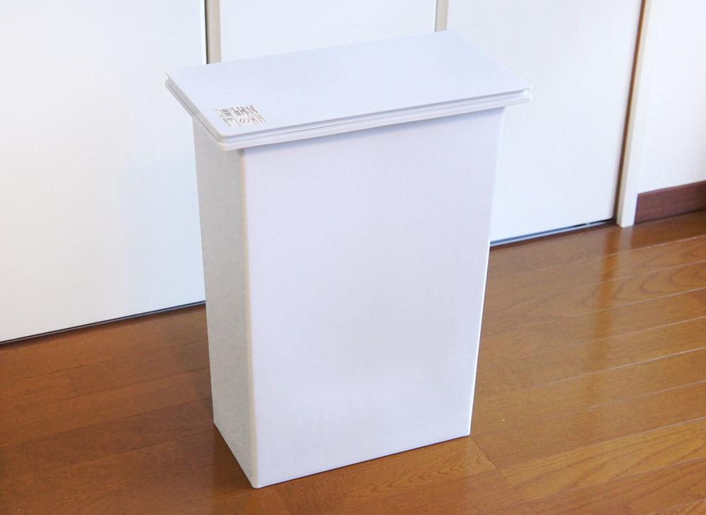 状態良好◎ 無印良品 MUJI ムジ|ポリプロピレンフタが選べる ダストボックス ゴミ箱 横開き用|大 約30L 分別タイプ|送料1380円~手渡可_画像1