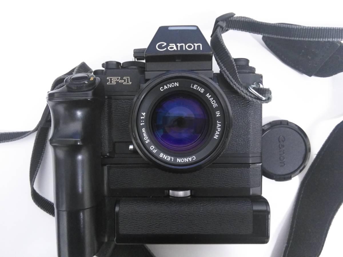 7-15 一眼レフ/レンズ おまとめ5点 Canon F-1 FD 50mm 1:1.4/AE-1/Tokina 400mm 1:1.4_画像2