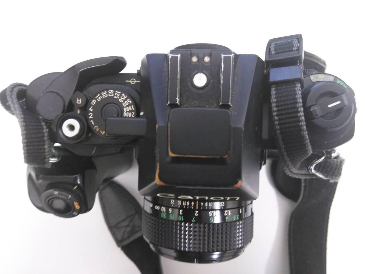 7-15 一眼レフ/レンズ おまとめ5点 Canon F-1 FD 50mm 1:1.4/AE-1/Tokina 400mm 1:1.4_画像3