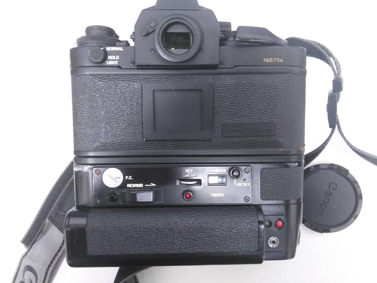 7-15 一眼レフ/レンズ おまとめ5点 Canon F-1 FD 50mm 1:1.4/AE-1/Tokina 400mm 1:1.4_画像4