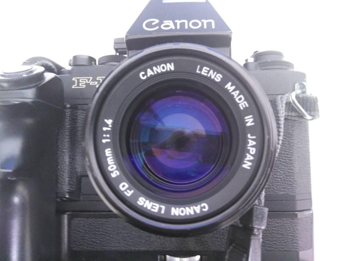 7-15 一眼レフ/レンズ おまとめ5点 Canon F-1 FD 50mm 1:1.4/AE-1/Tokina 400mm 1:1.4_画像5