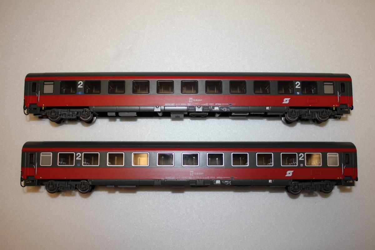 ACME オーストリア IC/EC用客車2両セット_画像2