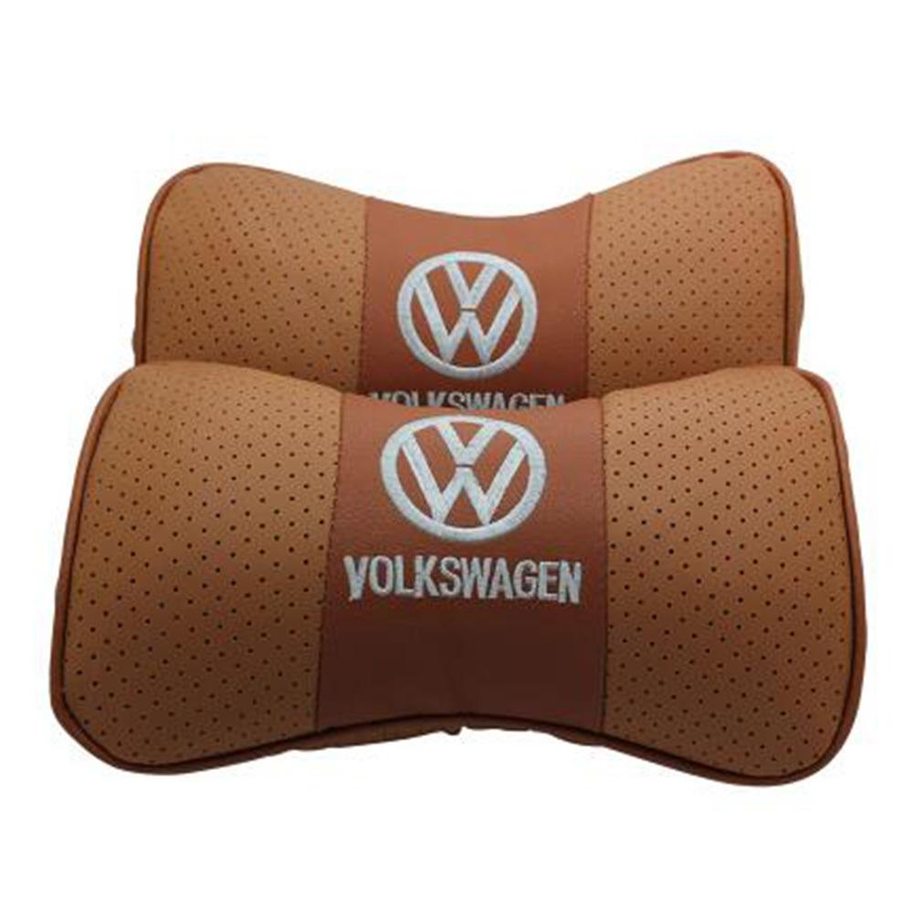 送料無料 新品 フォルクスワーゲン VWロゴ ネックパッド お得なセット 車内装 カーアクセサリ_画像4