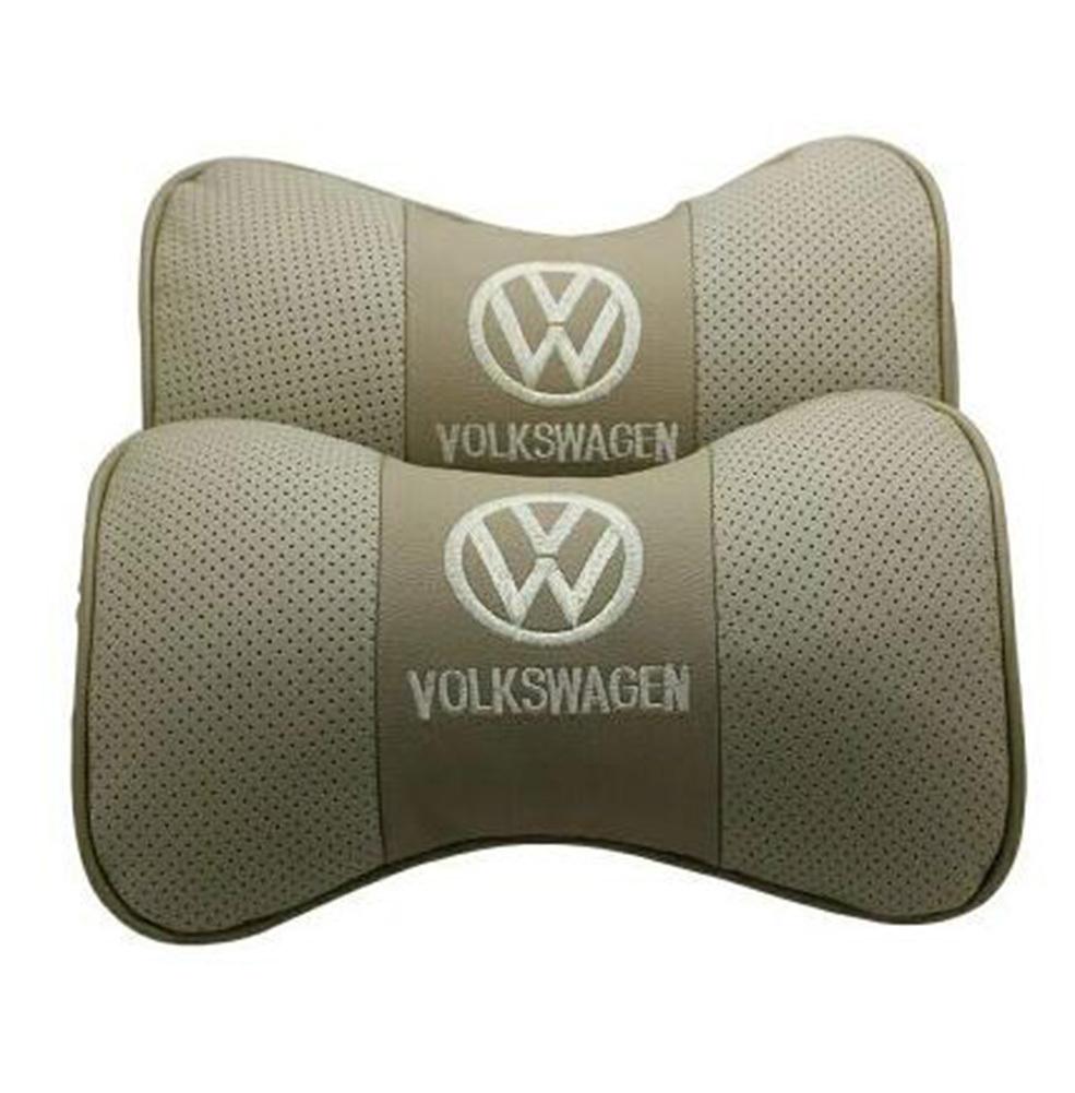 送料無料 新品 フォルクスワーゲン VWロゴ ネックパッド お得なセット 車内装 カーアクセサリ_画像3