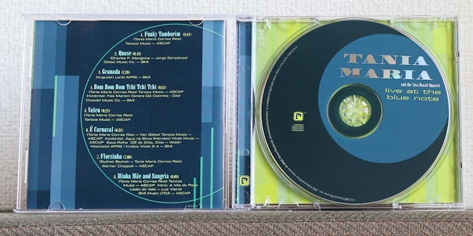 品薄CD/JAZZ/ブラジル/タニア・マリア/ライヴ・アット・ザ・ブルー・ノート/Tania Maria/Live at the Blue Note_画像3