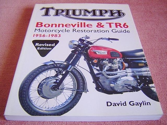 ★ 洋書 トライアンフ ボンネビル&TR6 モーターサイクル レストレーション ガイド TRIUMPH Bonneville&TR6 Motorcycle Restoration Guide_画像1
