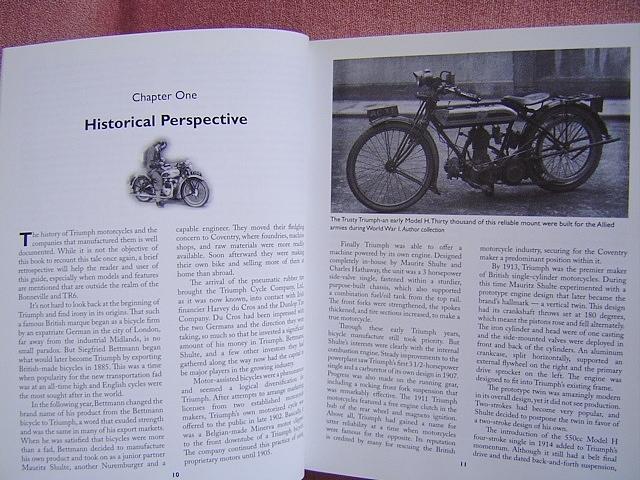 ★ 洋書 トライアンフ ボンネビル&TR6 モーターサイクル レストレーション ガイド TRIUMPH Bonneville&TR6 Motorcycle Restoration Guide_画像3