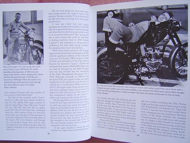★ 洋書 トライアンフ ボンネビル&TR6 モーターサイクル レストレーション ガイド TRIUMPH Bonneville&TR6 Motorcycle Restoration Guide_画像4