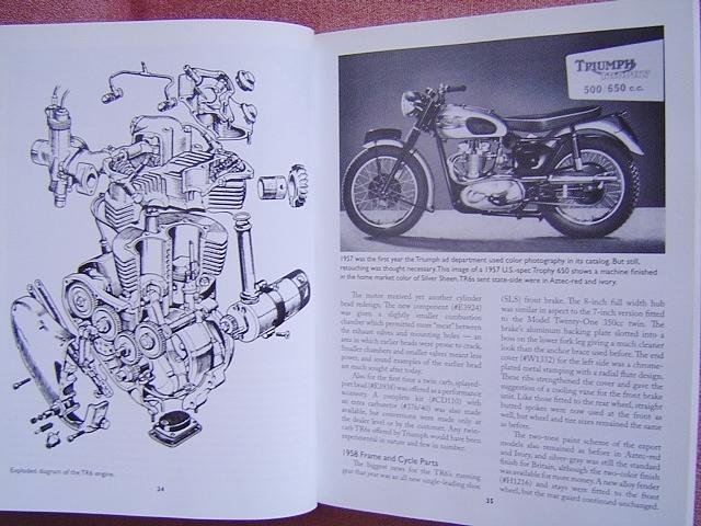 ★ 洋書 トライアンフ ボンネビル&TR6 モーターサイクル レストレーション ガイド TRIUMPH Bonneville&TR6 Motorcycle Restoration Guide_画像5