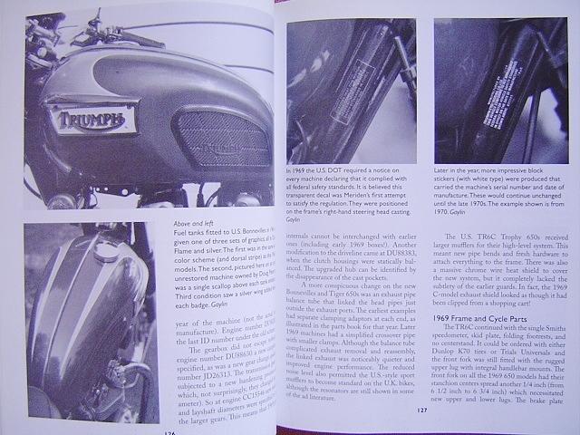 ★ 洋書 トライアンフ ボンネビル&TR6 モーターサイクル レストレーション ガイド TRIUMPH Bonneville&TR6 Motorcycle Restoration Guide_画像8