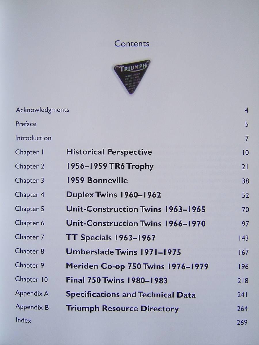 ★ 洋書 トライアンフ ボンネビル&TR6 モーターサイクル レストレーション ガイド TRIUMPH Bonneville&TR6 Motorcycle Restoration Guide_画像2