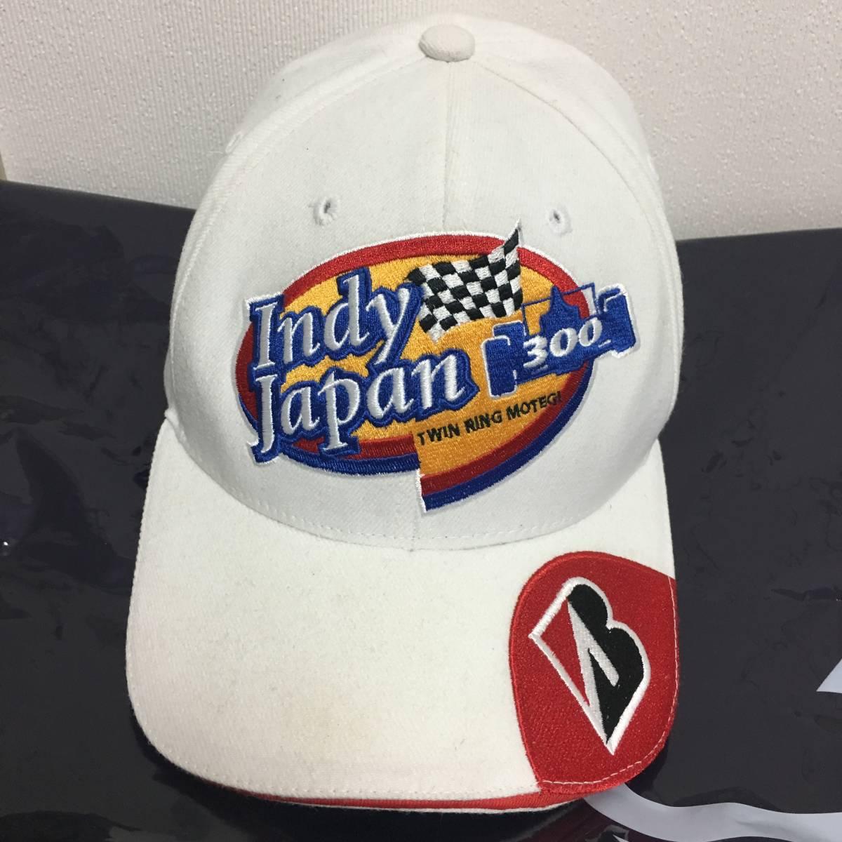 送料サービス ブリジストン BRIDGESTONE インディ300 ジャパン 帽子 非売品_画像1