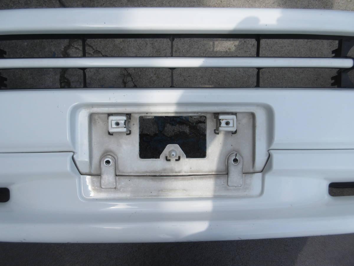 RF1 ホンダ ステップワゴン 純正 フロント バンパー スポイラー付 白 ホワイト(個人宅への配送不可)_画像4