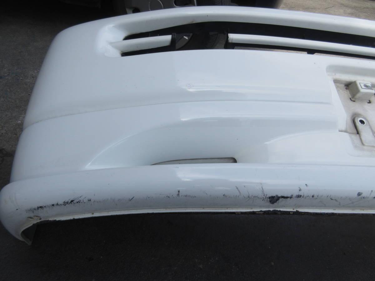 RF1 ホンダ ステップワゴン 純正 フロント バンパー スポイラー付 白 ホワイト(個人宅への配送不可)_画像7