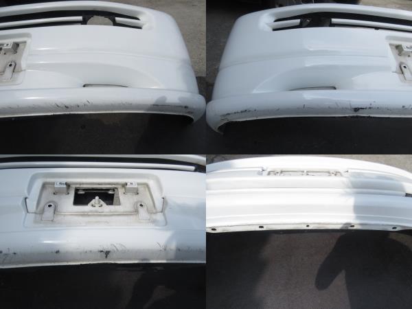 RF1 ホンダ ステップワゴン 純正 フロント バンパー スポイラー付 白 ホワイト(個人宅への配送不可)_画像9