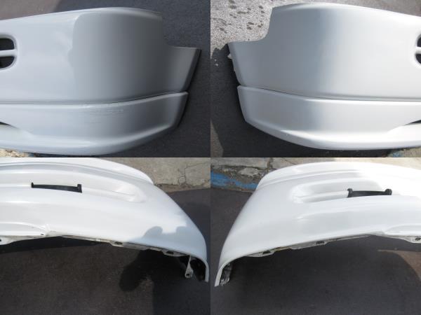 RF1 ホンダ ステップワゴン 純正 フロント バンパー スポイラー付 白 ホワイト(個人宅への配送不可)_画像10