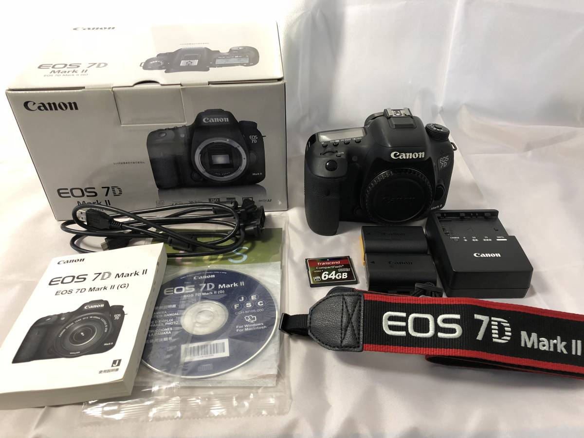 Canon EOS 7D Mark2 ボディ +予備バッテリー他