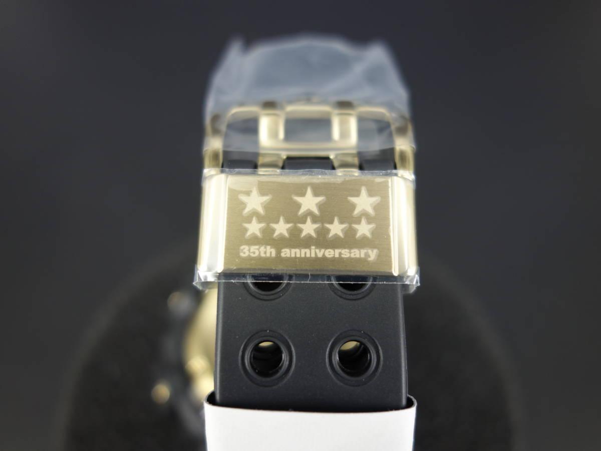 35周年記念限定モデル 新品未使用CASIOカシオGF-8235D-1BJRフロッグマン FROGMAN黒金オリジンゴールドTOUGH SOLARタフソーラー保証書未記入_画像5