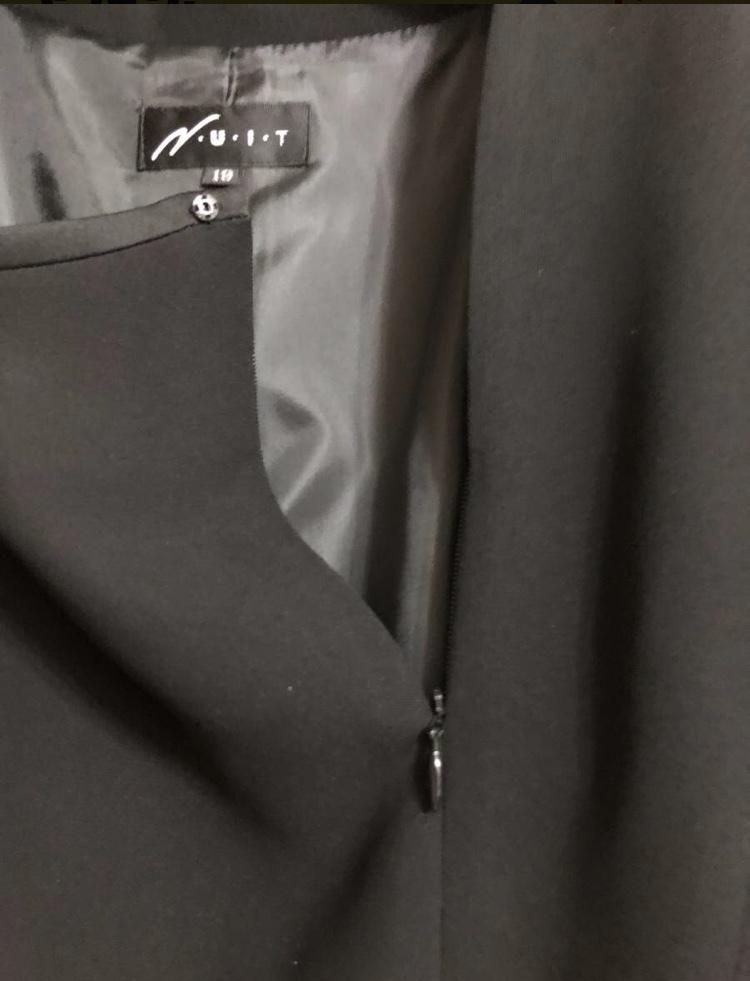 ★未使用品★ブラック フォーマル ウエア★ワンピーススーツ3点セット★19AR★2ジャケット★お買得★_画像3