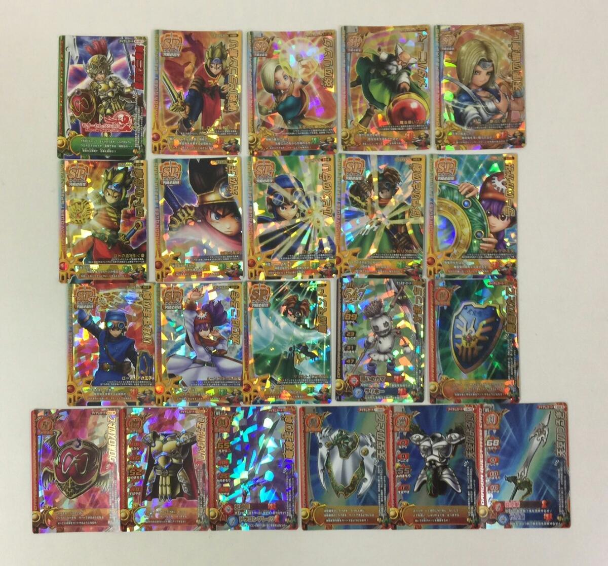 ドラゴンクエスト モンスターバトルロード SP キラ カード セット モリーセレクション 光の玉 勇者のたて ロトの紋章