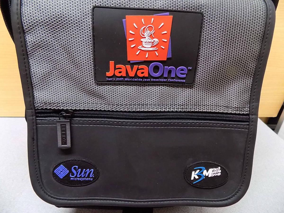美品 Java One 黒とグレー リュックサック_画像3