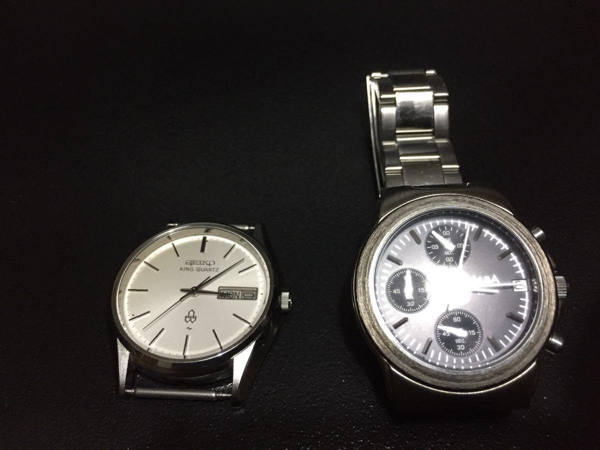 腕時計 セイコー 5856-8040 ALBA v657- x013ジャンク扱い